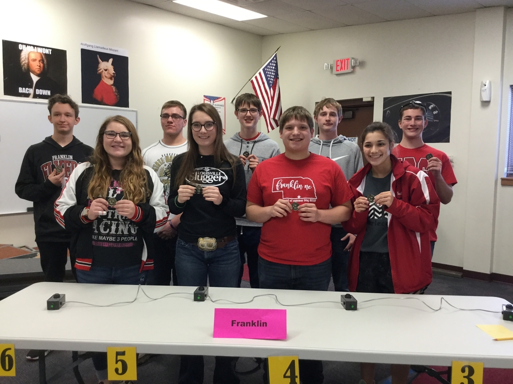 High school quiz bowl team.