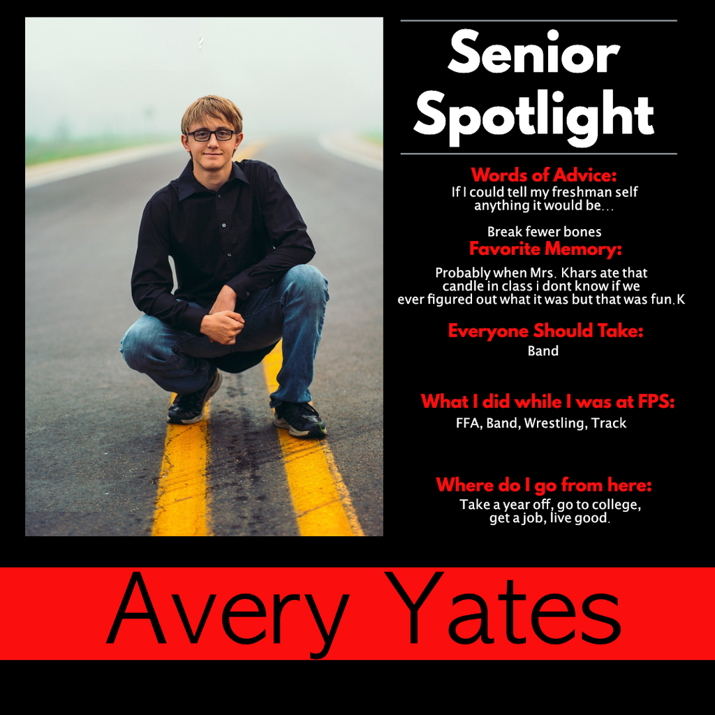 Avery Yates Senior Spotlight
