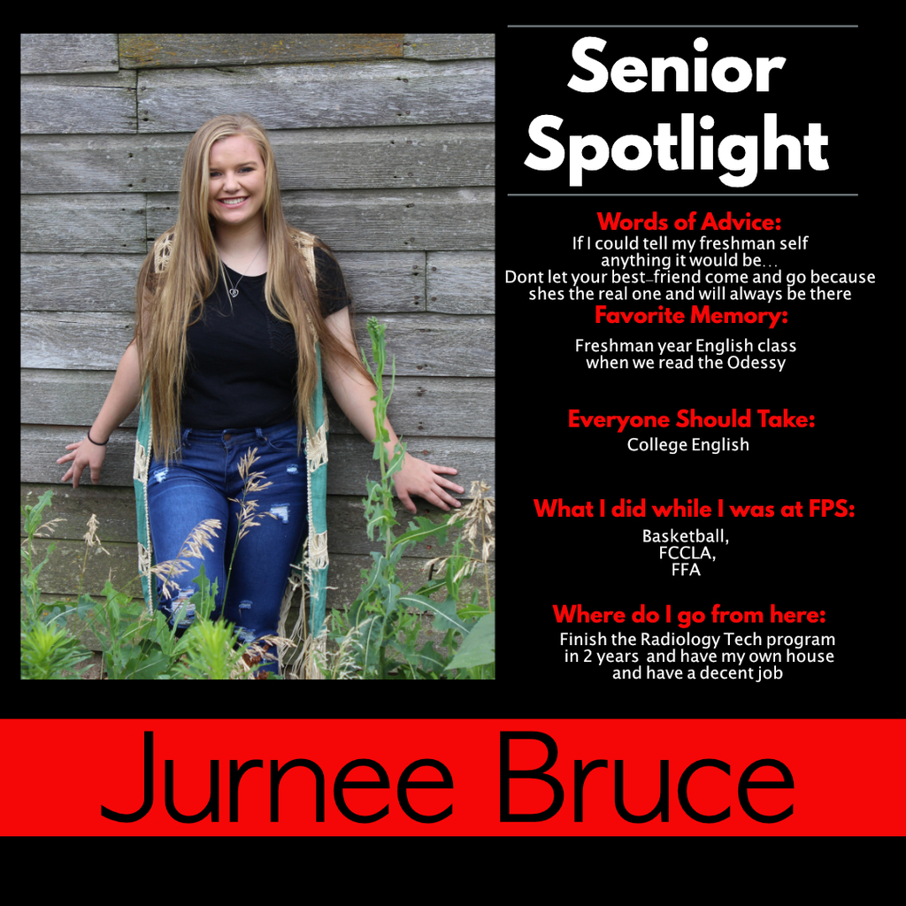 Jurnee Bruce Senior Spotlight