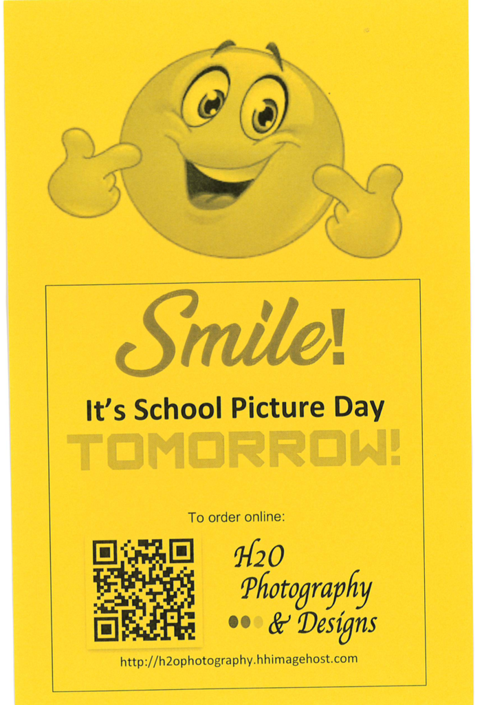 School Picture Day Reminder